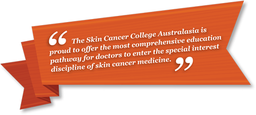 Skin Cancer College Introduction banner